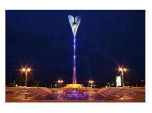 На Театральной площади возведен мемориальный комплекс в честь освобождения Ро