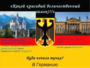 «Какой красивый величественный замок!!!» Замок Нойшванштайн переводится с нем