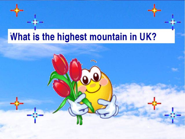 What is the highest mountain in UK?