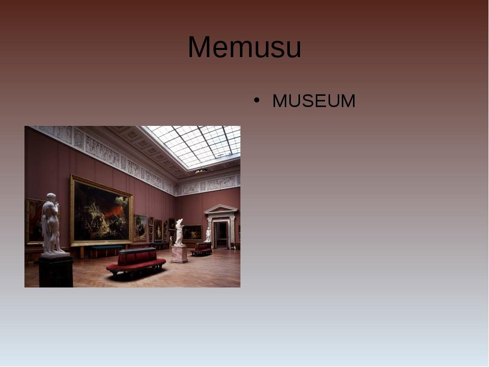 Memusu MUSEUM