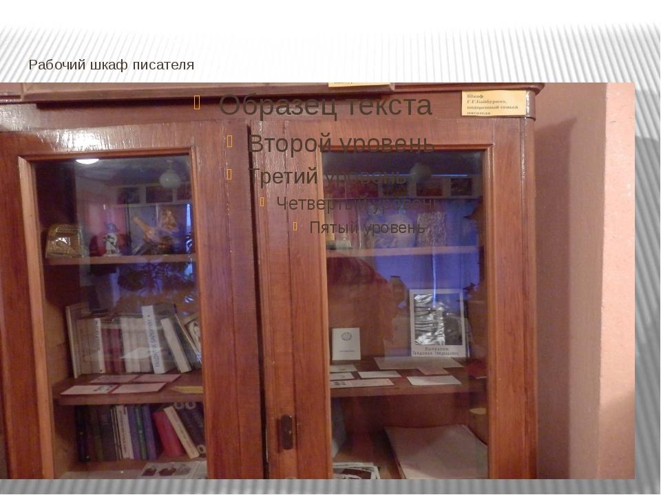 Рабочий шкаф писателя