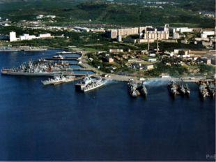 К северу от Мурманска на Кольском полуострове построена база Северного морско