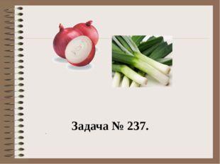 Задача № 237. .