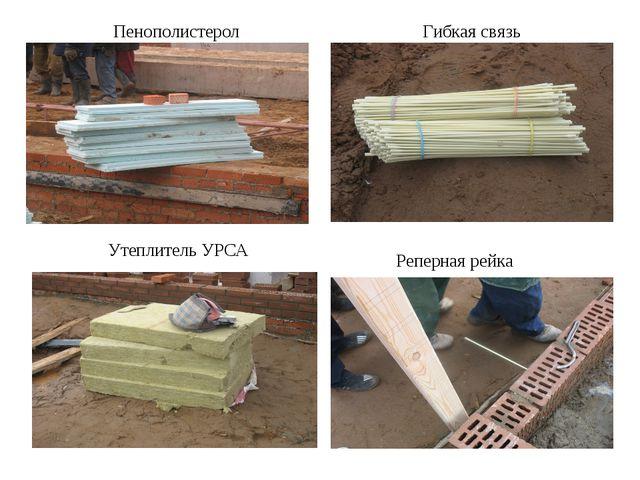 Пенополистерол Гибкая связь Утеплитель УРСА Реперная рейка