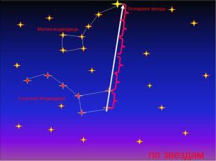по звездам Большая Медведица Малая медведица Полярная звезда
