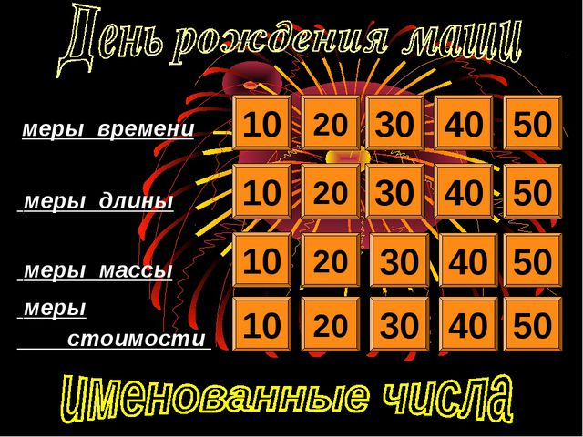 10 20 30 40 50 10 20 20 20 10 10 30 30 30 40 40 40 50 50 50 меры времени...
