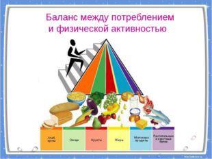 Баланс между потреблением и физической активностью