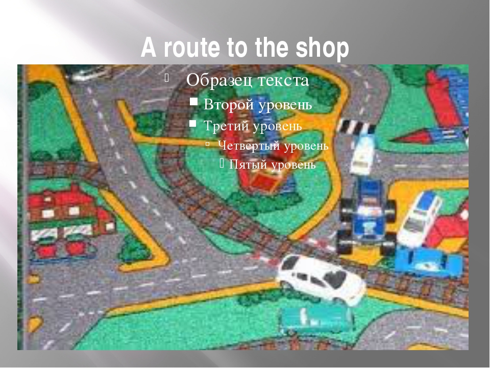 A route to the shop