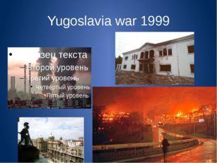 Yugoslavia war 1999