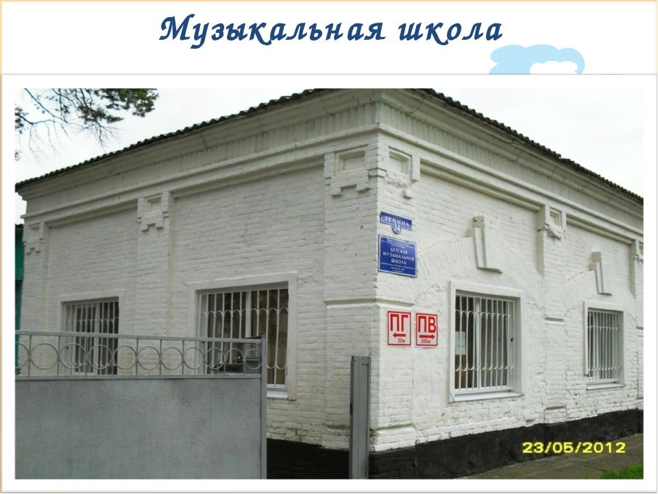 Музыкальная школа * Signature of Teacher Signature of Teacher