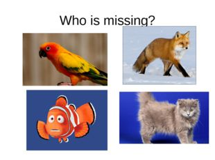 Who is missing?