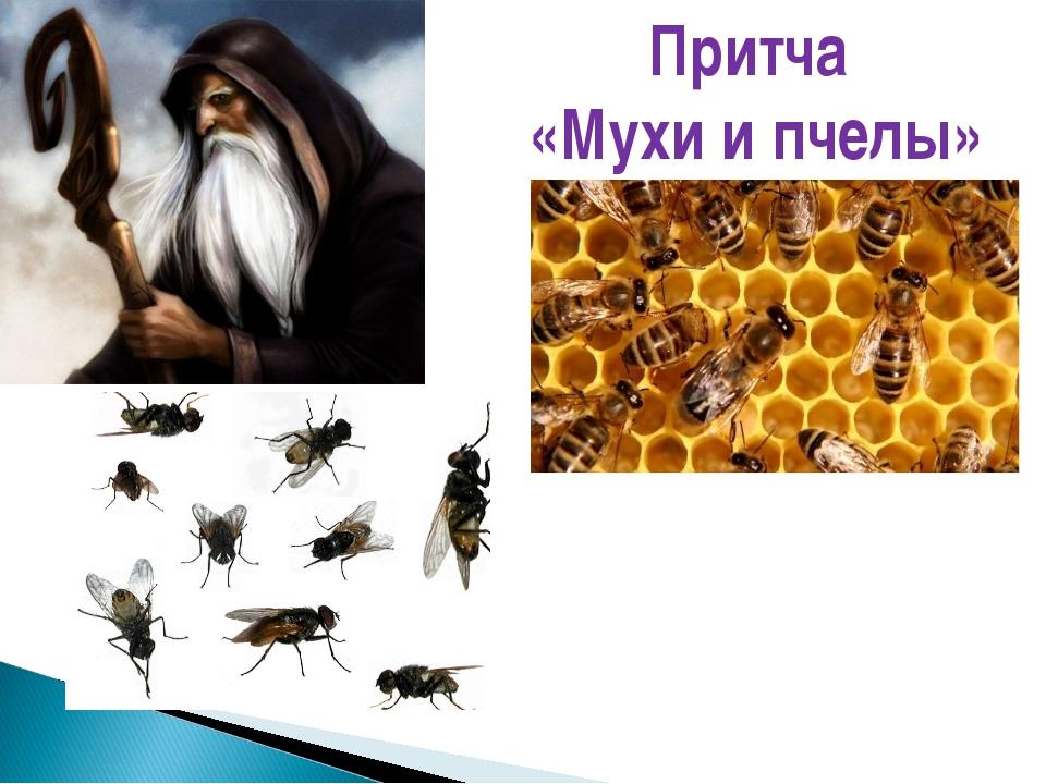 Притча «Мухи и пчелы»