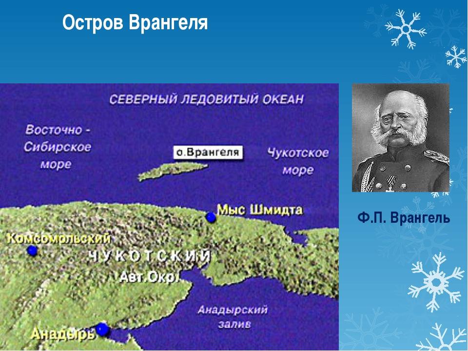 Ф.П. Врангель Остров Врангеля