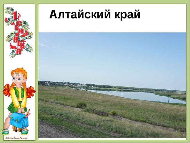 Алтайский край © Фокина Лидия Петровна © Фокина Лидия Петровна - Ребята, как...