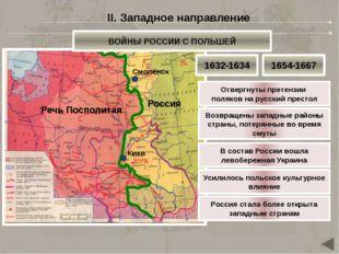 Речь Посполитая Россия Причина: Итоги: Смоленск Киев Речь Посполитая вновь во