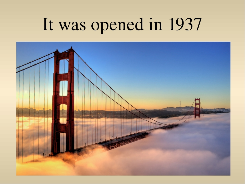It was opened in 1937