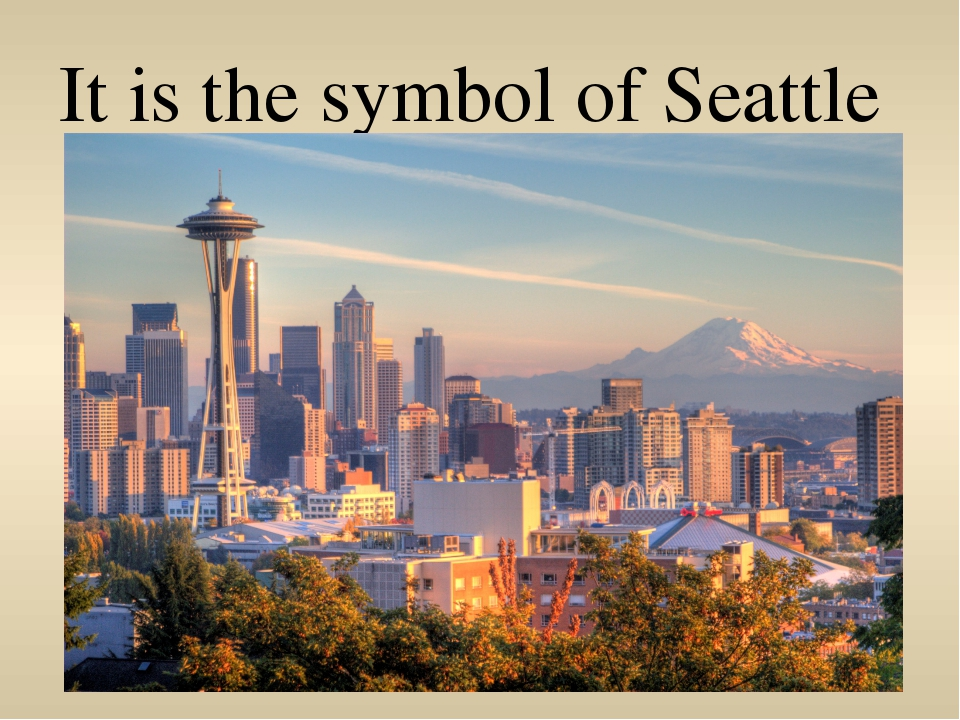 It is the symbol of Seattle