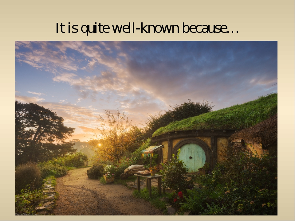 It is quite well-known because…