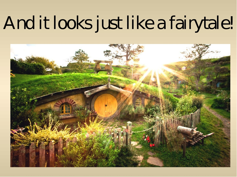 And it looks just like a fairytale!