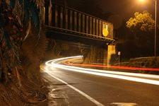 3D обои Скорость... . Скоростной снимок участка дороги дороги #35763 для рабочего стола