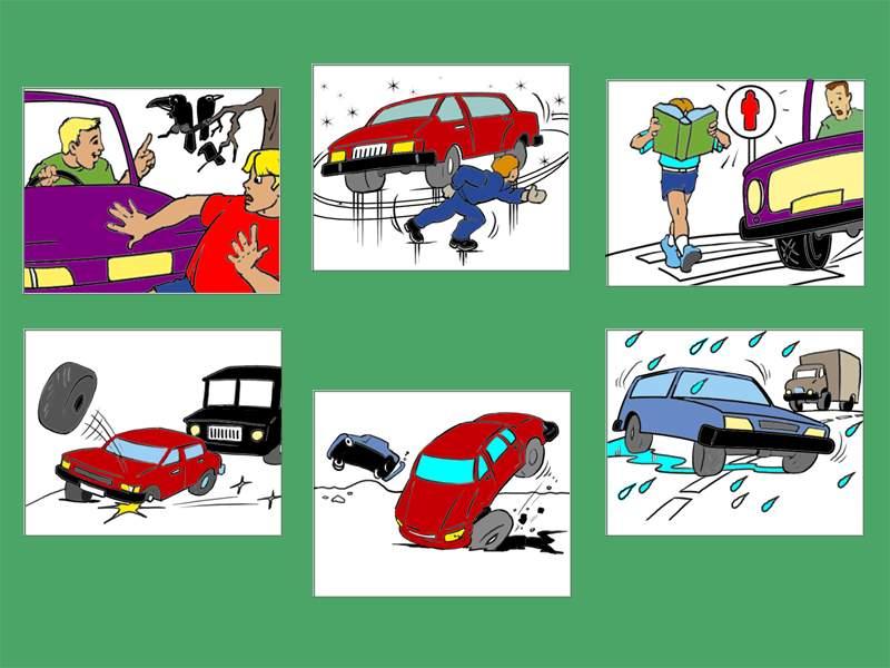 Опасные ситуации на дорогах - Картинка 14648/18