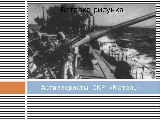 Артиллеристы СКР «Метель»