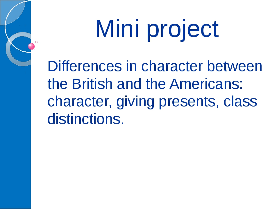 Mini project