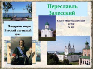 Переславль Залесский Плещеево озеро Русский потешный флот Спасо-Преображенск