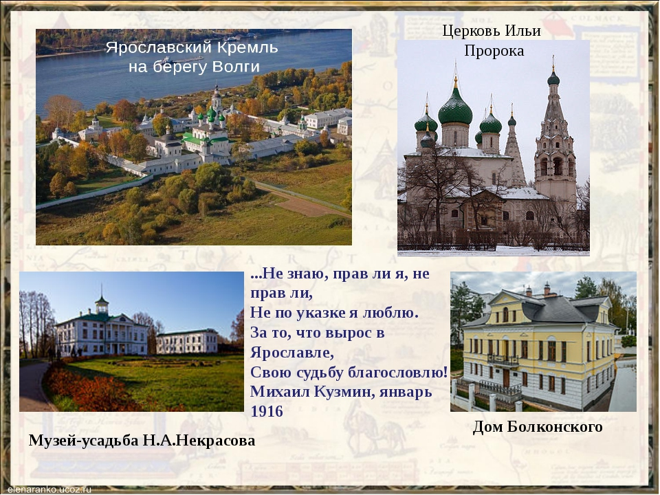 Церковь Ильи Пророка Музей-усадьба Н.А.Некрасова Дом Болконского ...Не знаю,...