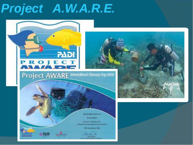 Project A.W.A.R.E.