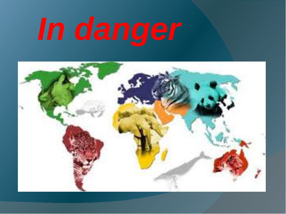 In danger