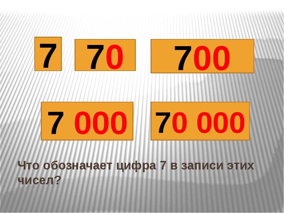 Что обозначает цифра 7 в записи этих чисел?