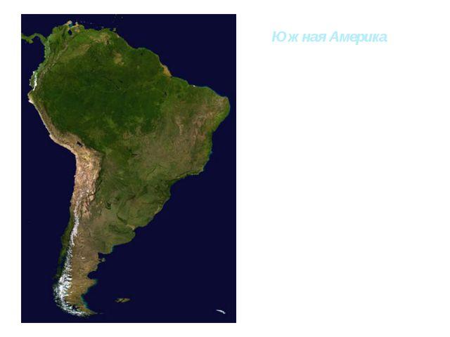 Южная Америка Пересекается экватором в северной части. Это самый обводнённый...