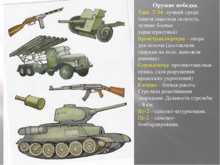 Оружие победы. Танк Т-34- лучший среди танков (высокая скорость, лучшие боевы