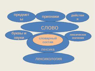 слово предметы признаки действия лексическое значение буквы и звуки лексика