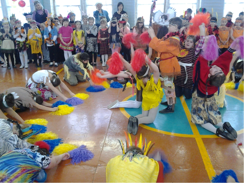 Наше племя –Дети Солнца. А это поклонение Богу Солнца.