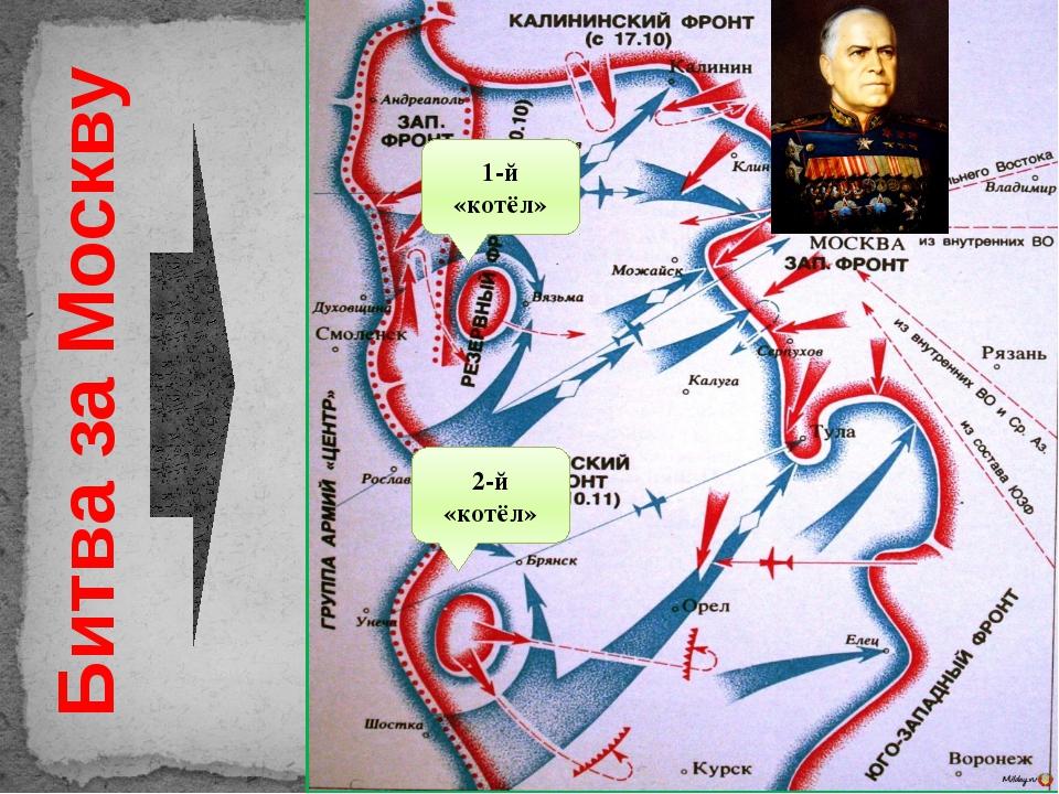 Битва за Москву 1-й «котёл» 2-й «котёл»