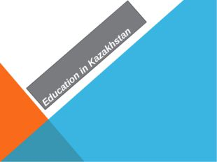 Education in Kazakhstan