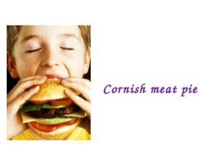 Cornish meat pie