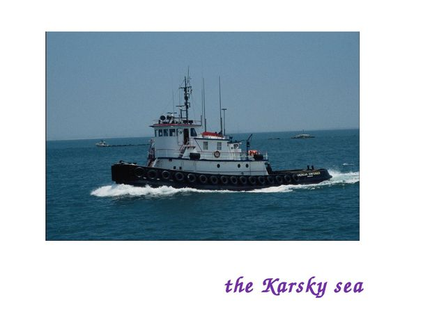 the Karsky sea