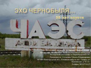 МОУ Ужовская СОШ Аронов Николай 10 класс Презентация, посвященная землякам-уч