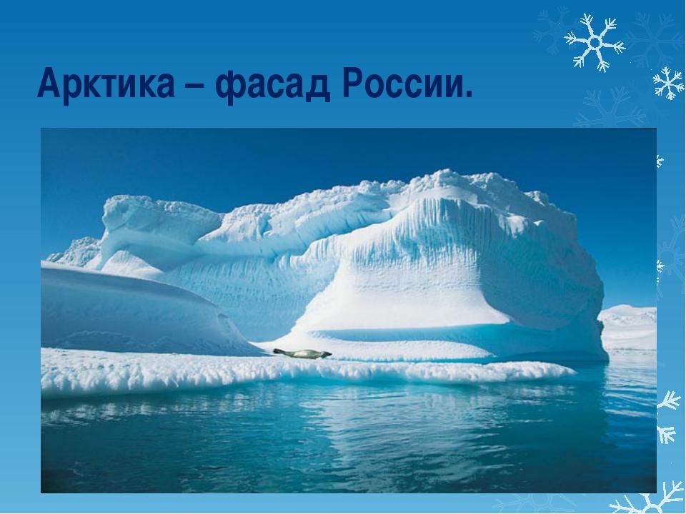 Арктика – фасад России.