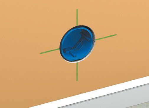 Фото 3 - Примерить установочную коробку к отверстию