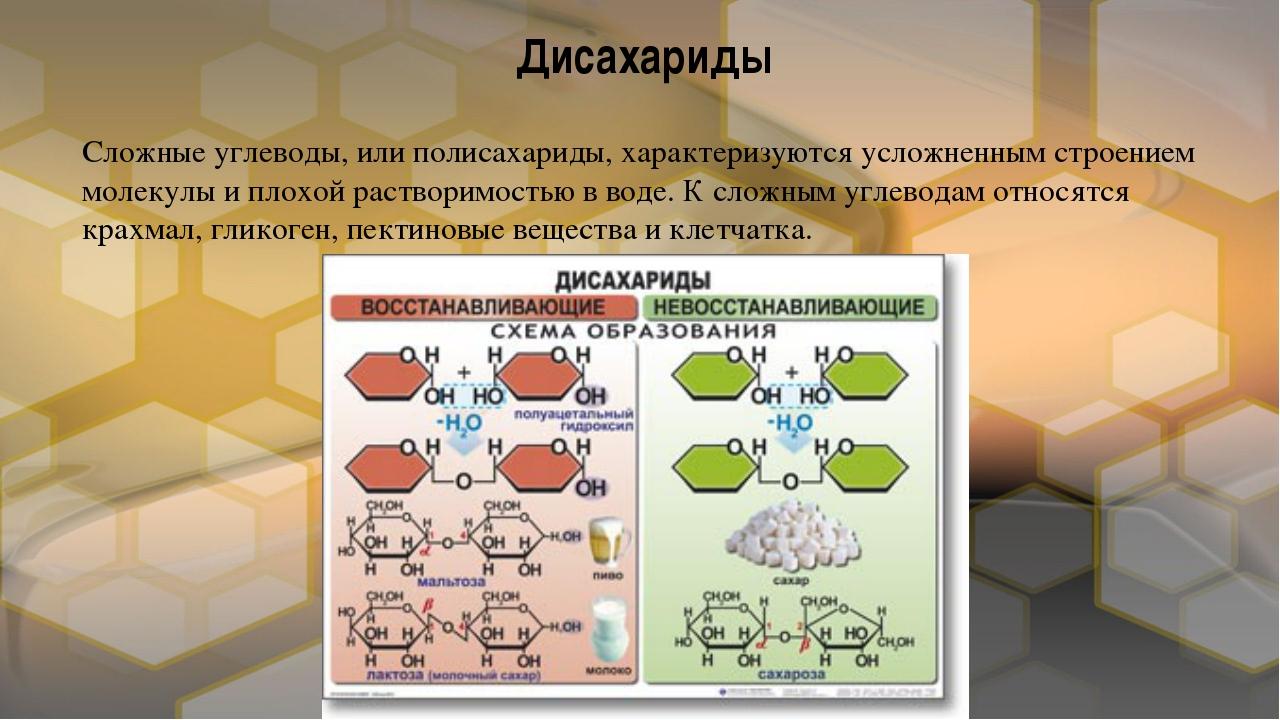Сложные углеводы, или полисахариды, характеризуются усложненным строением мол...