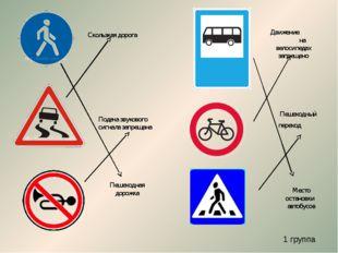 Пешеходная дорожка Подача звукового сигнала запрещена Движение на велосипедах