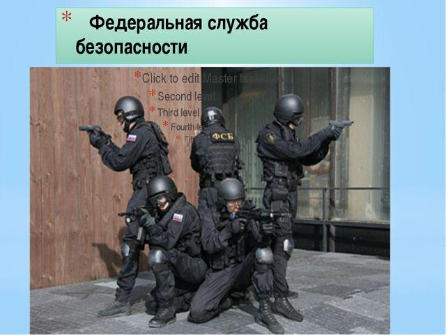 Федеральная служба безопасности