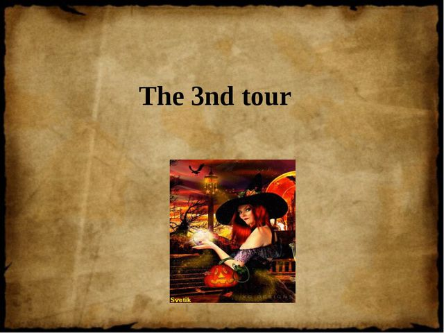The 3nd tour