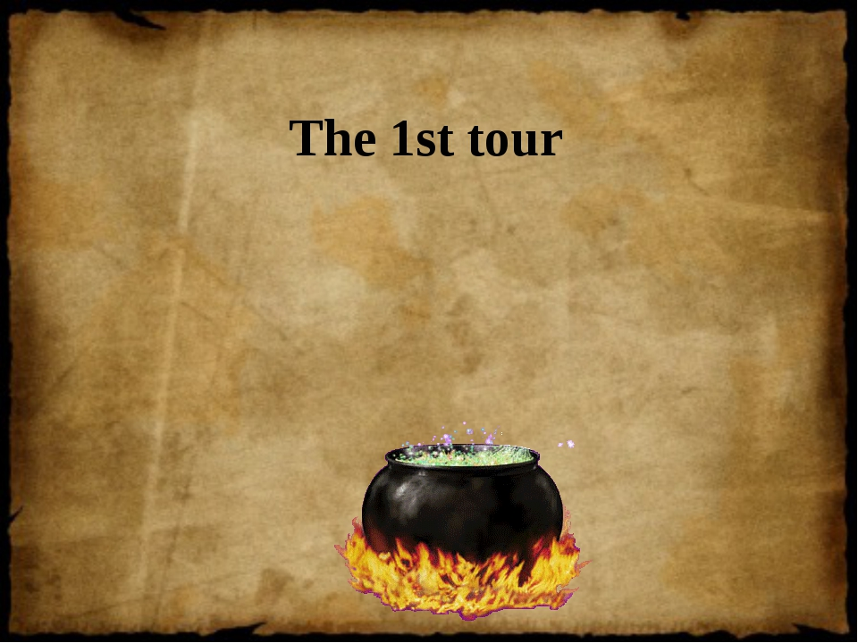 The 1st tour