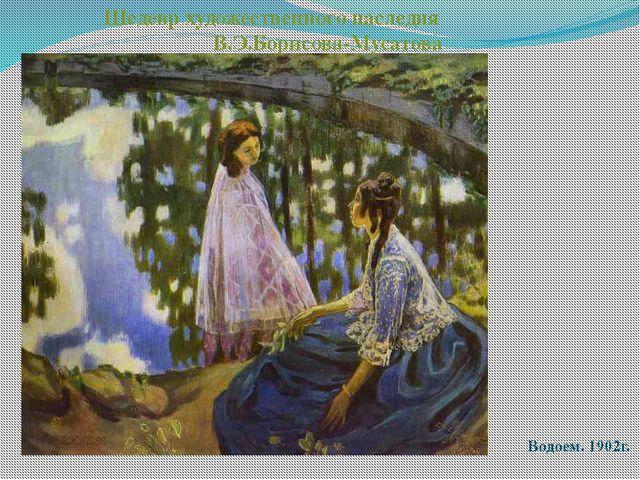 Водоем. 1902г. Шедевр художественного наследия В.Э.Борисова-Мусатова