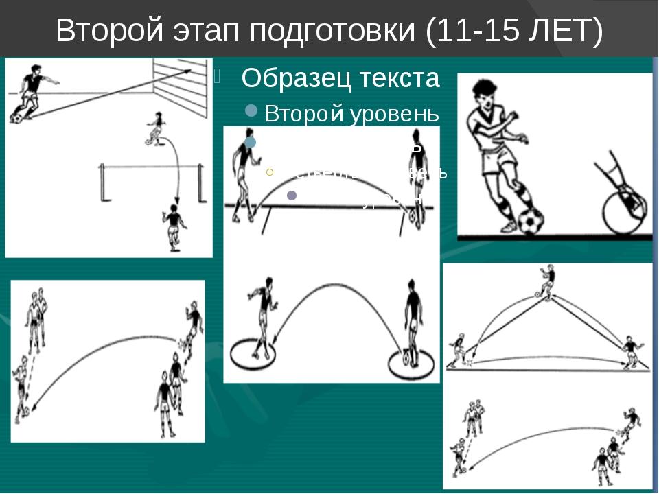 Второй этап подготовки (11-15 ЛЕТ)